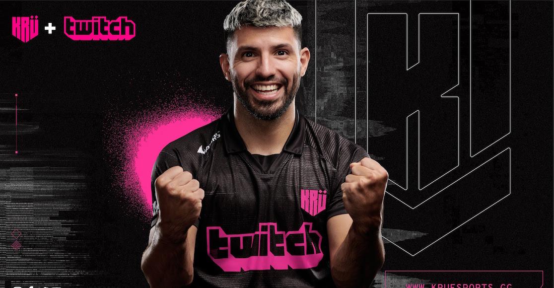 'Kun' Agüero presenta su nuevo equipo de esports en Twithc