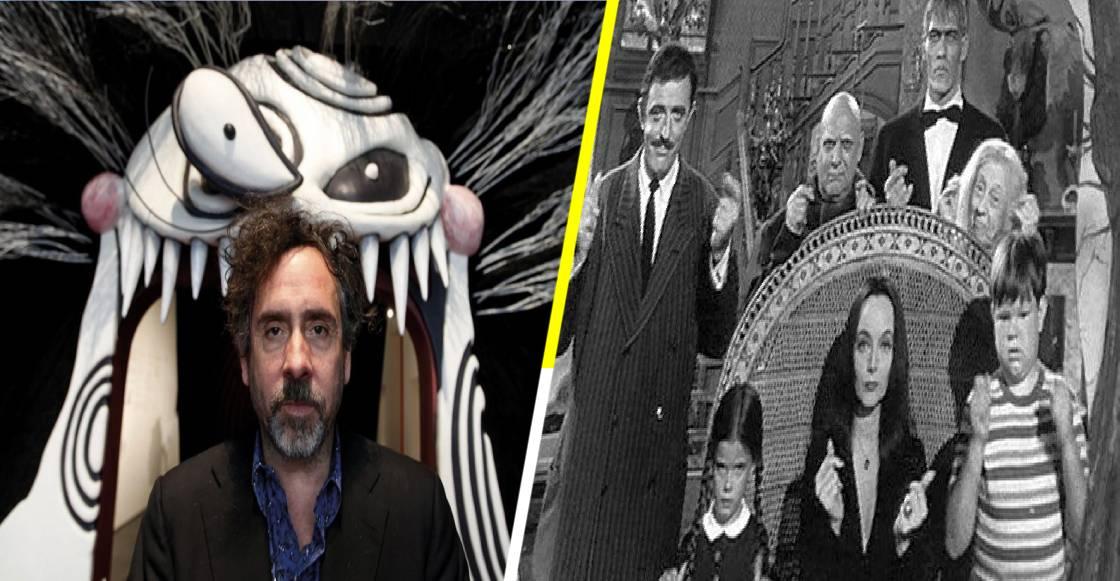 'Los Locos Addams' regresan a la televisión de la mano de Tim Burton