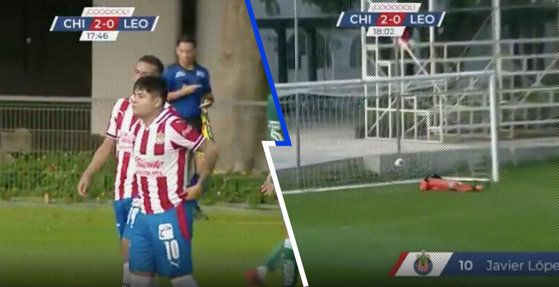 ¡Se comió a Messi! La 'Chofis' López marcó un GOLAZO desde media cancha