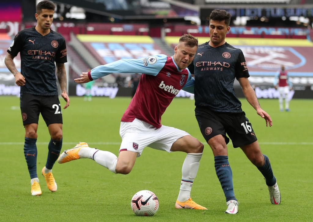 Gol de chilena, media vuelta y el Manchester City mantuvo su dominio sobre el West Ham