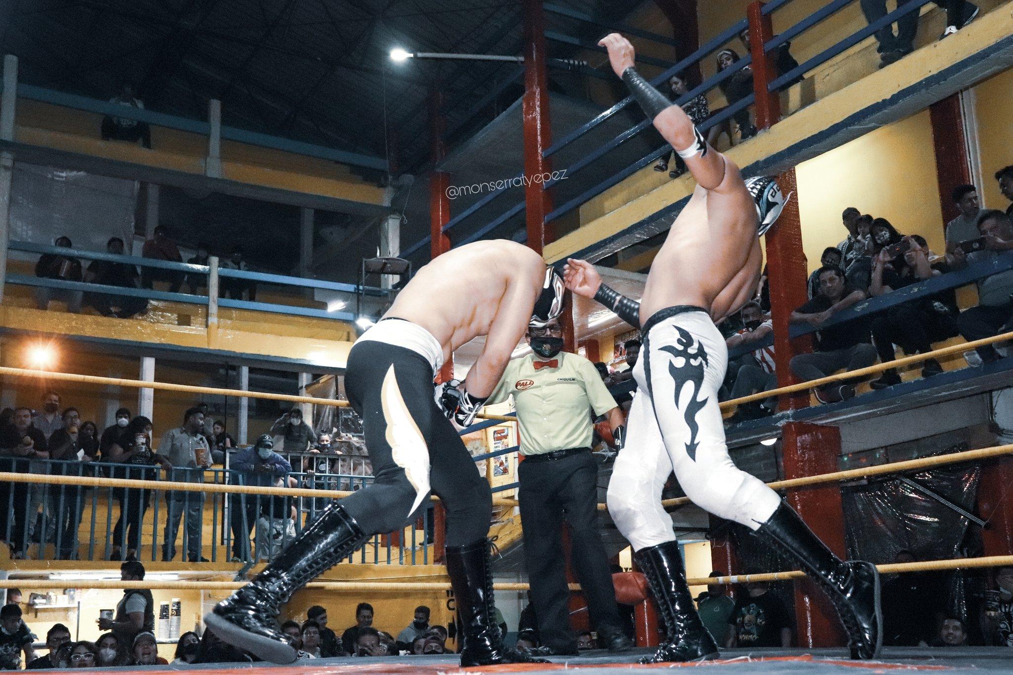 Murió el luchador Principe Aéreo en plena función de lucha libre