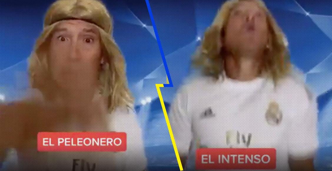 El 'Matador' Hernández la rompe en Tik Tok mostrando a los tipos de jugadores en la Champions League