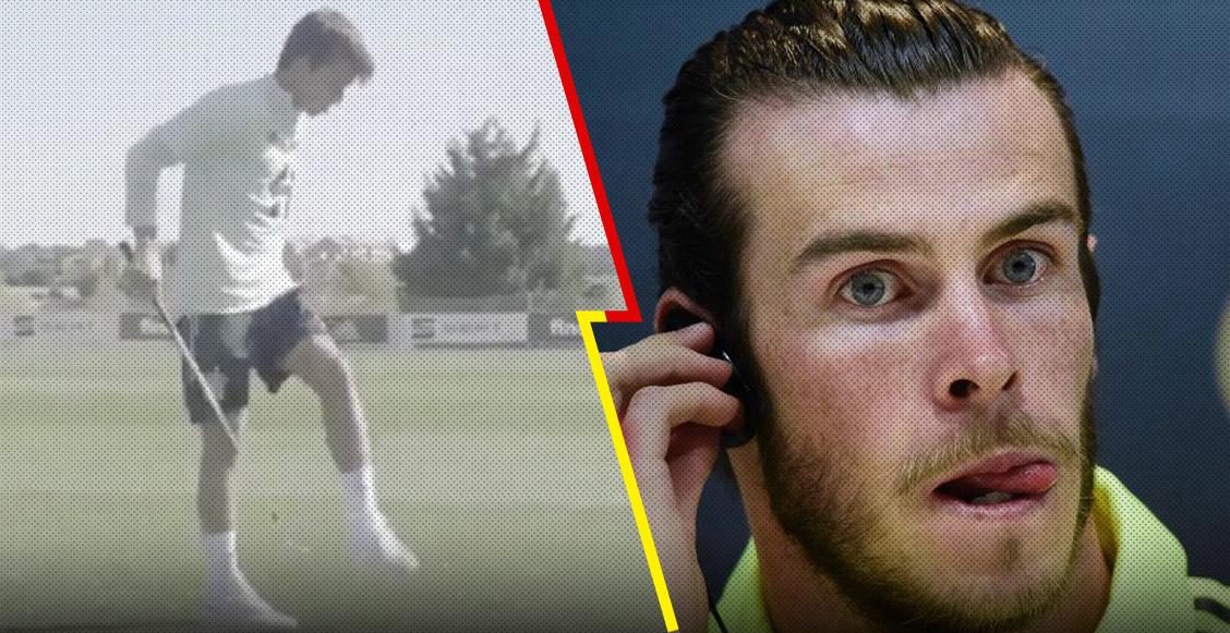 El video de Riqui Puig donde demuestra su habilidad en el golf y 'pone a temblar' a Gareth Bale