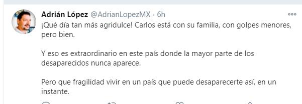 Carlos Zatarain secuestro