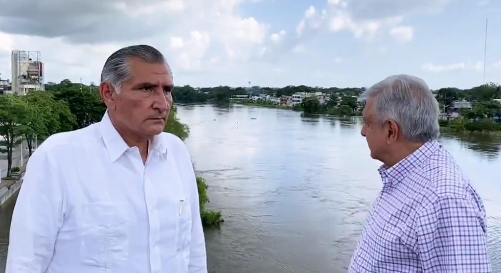 AMLO gobernador tabasco inundaciones