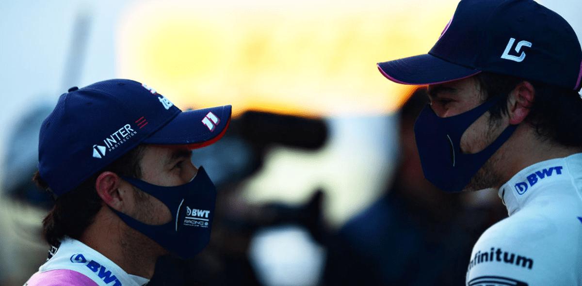 Checo Pérez saldrá tercero y Lance Stroll se quedó con la pole position del Gran Premio de Turquía