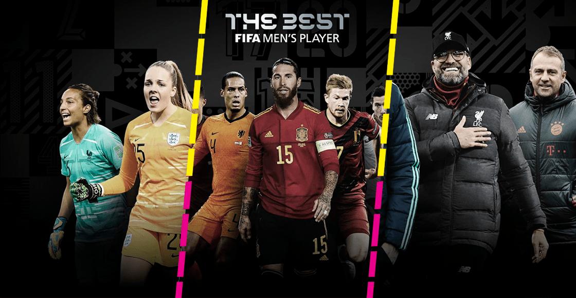 Ellos son todos los nominados a los premios The Best del 2020