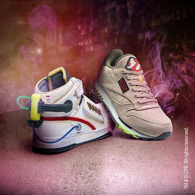 Reebok lanza una colección de los Ghostbusters
