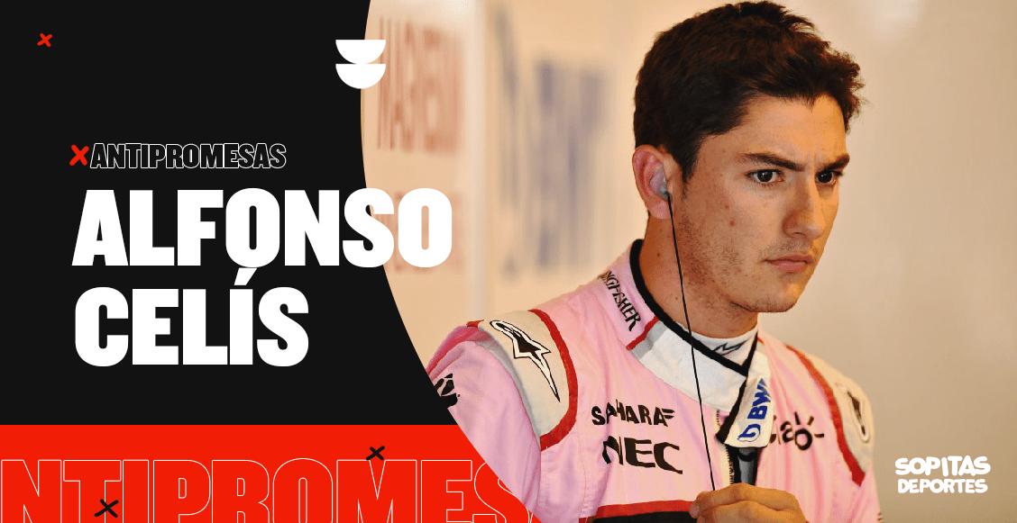 Hoy en las antipromesas: Alfonso Celís, el piloto que se perdió tras chocar en el GP de México