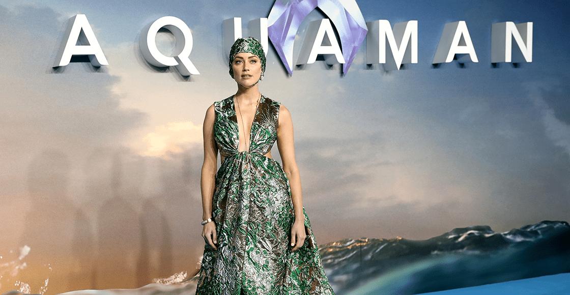 """""""Estoy muy emocionada"""": Amber Heard confirma que interpretará a Mera en la secuela de 'Aquaman'"""