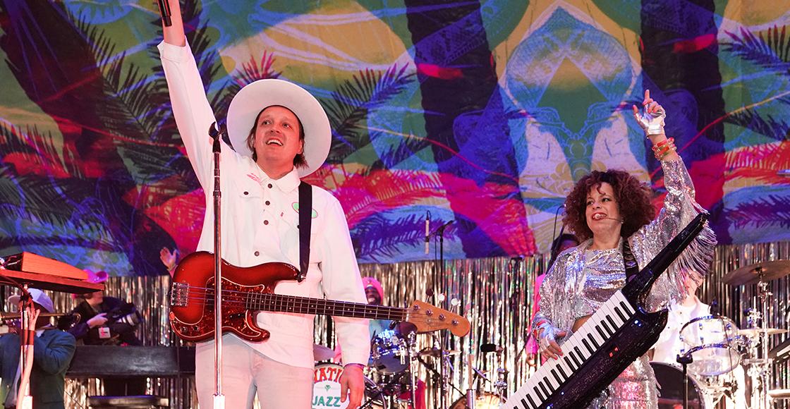 ¡Arcade Fire estrena una nueva rola durante un especial por las elecciones de EU!