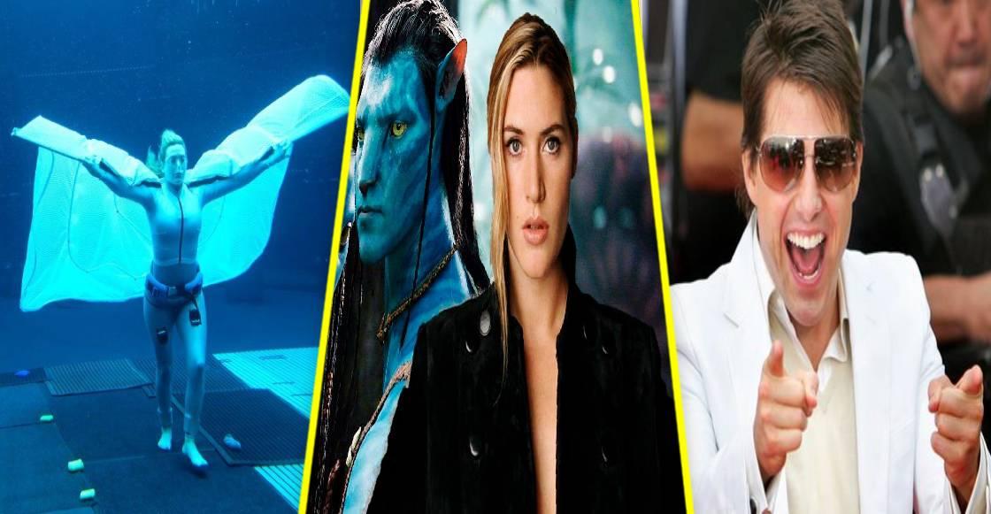 Kate Winslet supera el récord de Tom Cruise inmersa bajo el agua, para Avatar 2