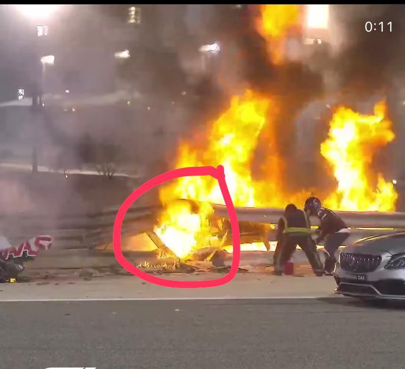 Los protocolos de seguridad que se violaron durante el Gran Premio de Baréin