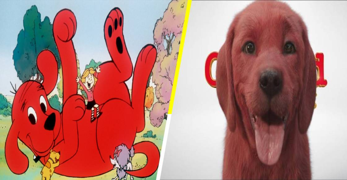 ¿Guau? Así luce 'Clifford, el Gran Perro Rojo' en live action