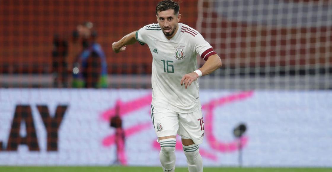 Malas noticias: Héctor Herrera es baja de la Selección Mexicana tras presentar una lesión