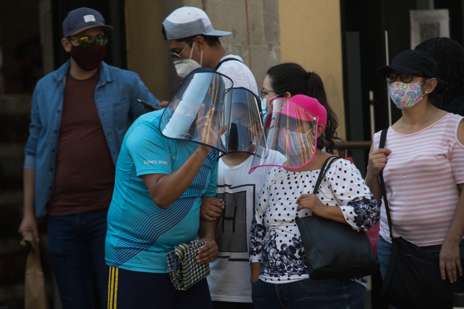 Casos COVID en México