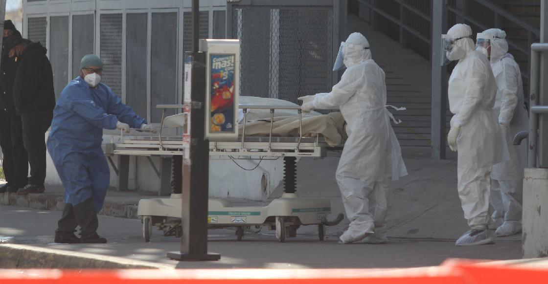 Nos acercamos a las 100 mil: México lleva 6 mil 789 muertes por coronavirus en lo que va de noviembre