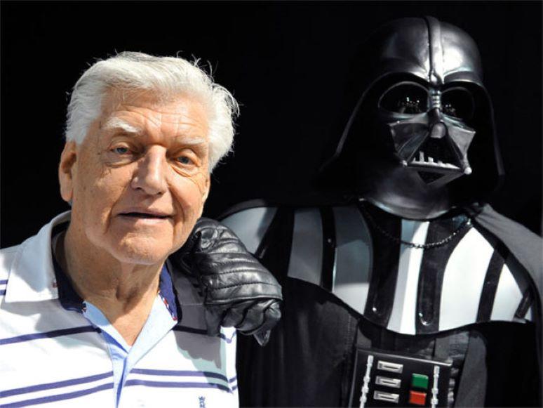 David Prowse, el verdadero 'Darth Vader', murió a los 85 años de edad