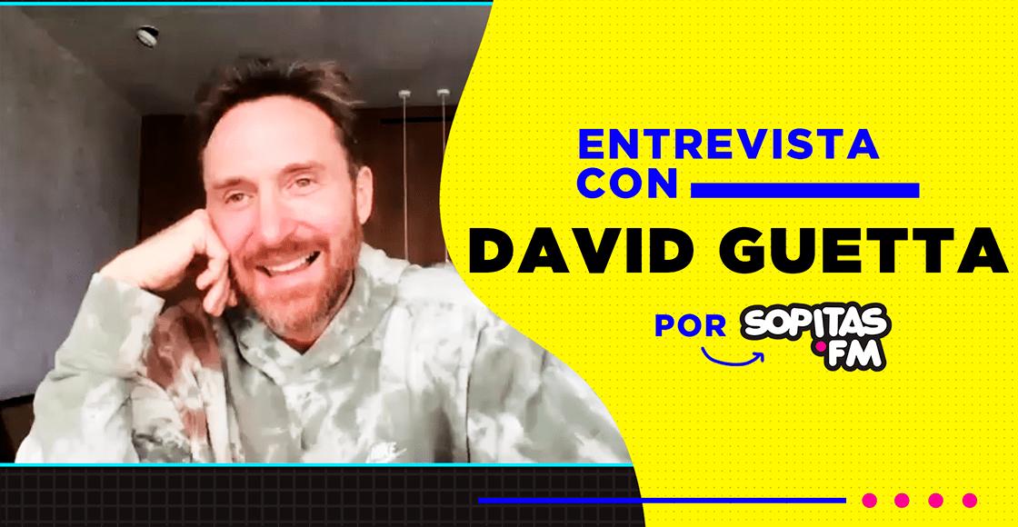"""""""Siempre quiero brindar una experiencia única"""": Una entrevista con David Guetta"""