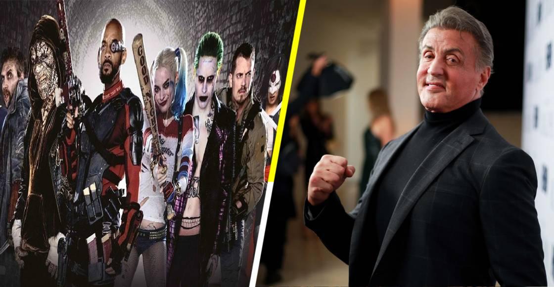¿De superhéroe a Villano? Sylvester Stallone se une al elenco de 'Escuadrón Suicida 2'