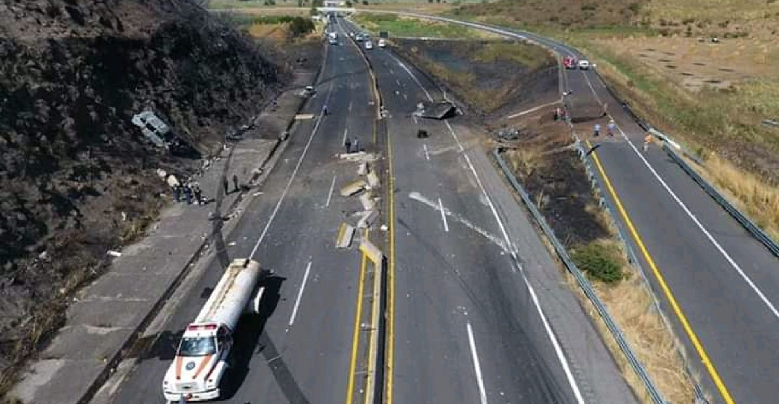 Falleció la única sobreviviente de la explosión en la autopista Tepic-Guadalajara