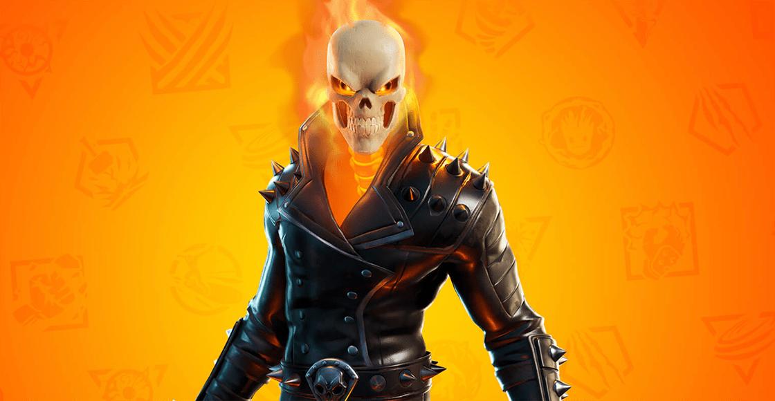 ¡Ghost Rider llega a 'Fortnite' y acá te contamos cómo conseguirlo!