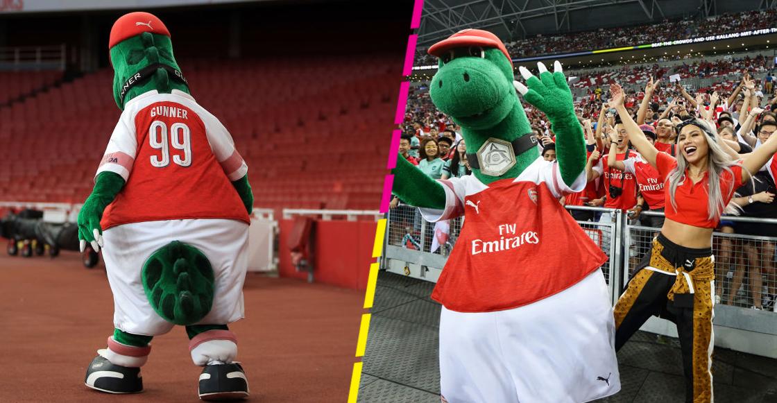 ¡No se extinguió! 'Gunnersaurus' regresó al Arsenal luego de ser despedido por el coronavirus