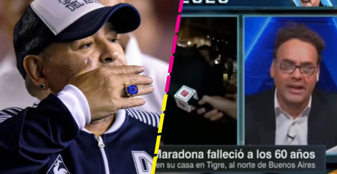 10 mil dólares por una entrevista: La curiosa anécdota de David Faitelson con Maradona