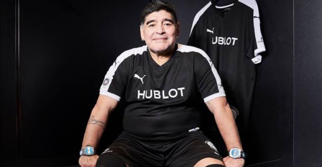¿Cábala o elegancia? El motivo por el que Maradona siempre usó dos relojes