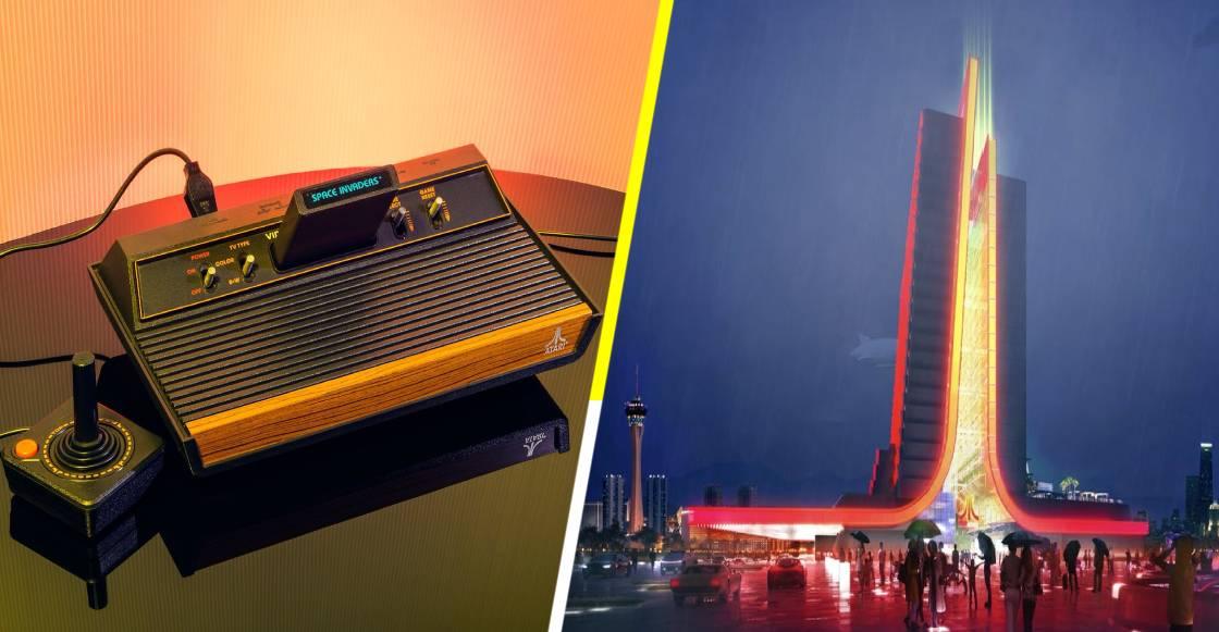 Así serán los hoteles temáticos de Atari, diseñados especialmente para gamers