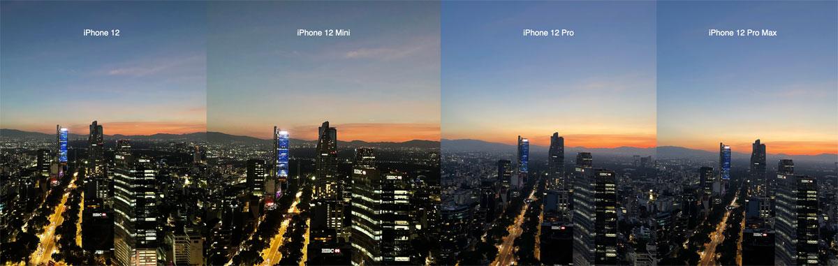Comparación de Cámaras del iPhone 12