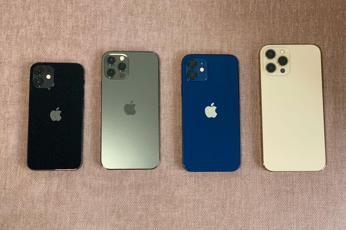 Tamaño y diseño del iPhone 12 Mini, iPhone 12, iPhone 12 Pro y iPhone 12 Pro Max