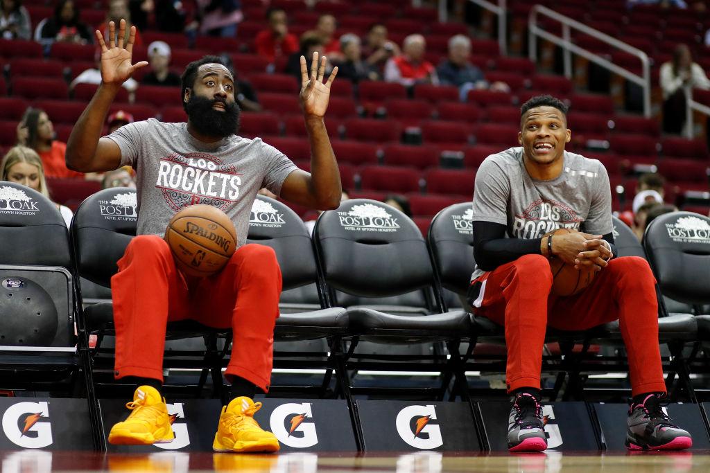 James Harden y Russell Westbrook piensan en salir de los Houston Rockets