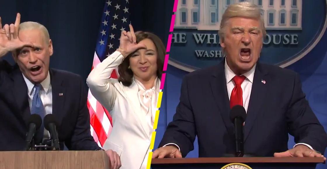 Jim Carrey imita a Joe Biden en SNL y se burla de Donald Trump