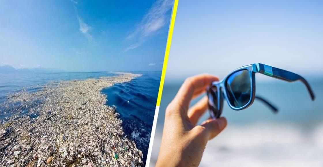 ¡Qué elegancia la de Francia! Estos lentes de sol están hechos con basura del océano