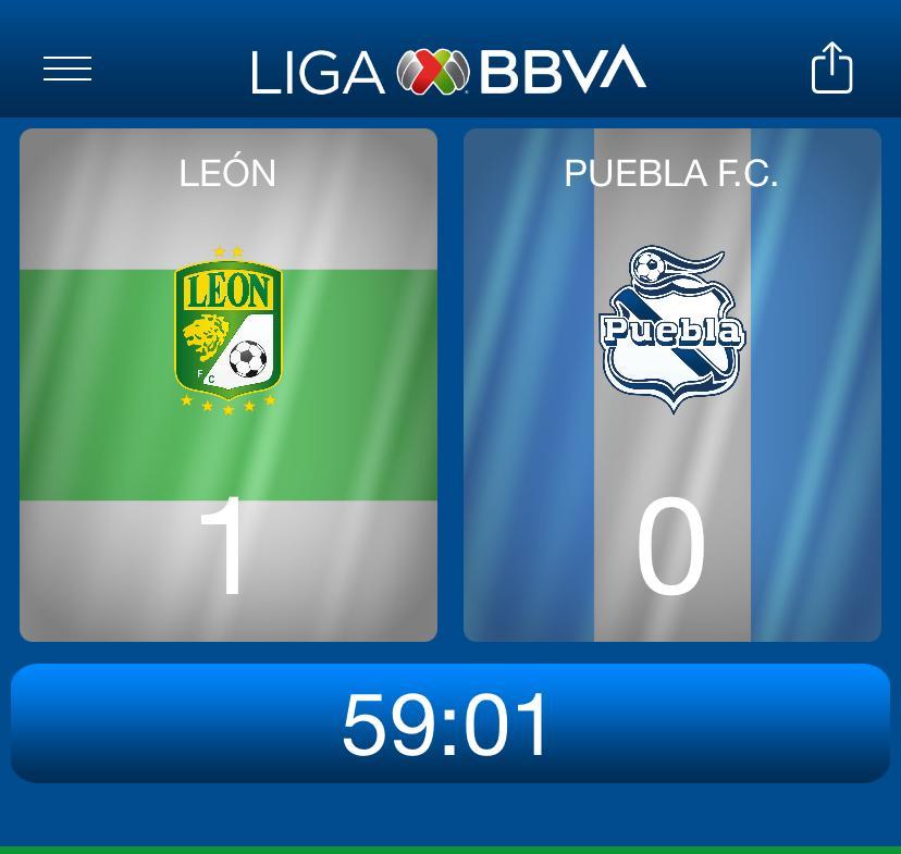 León semifinales puebla liga mx