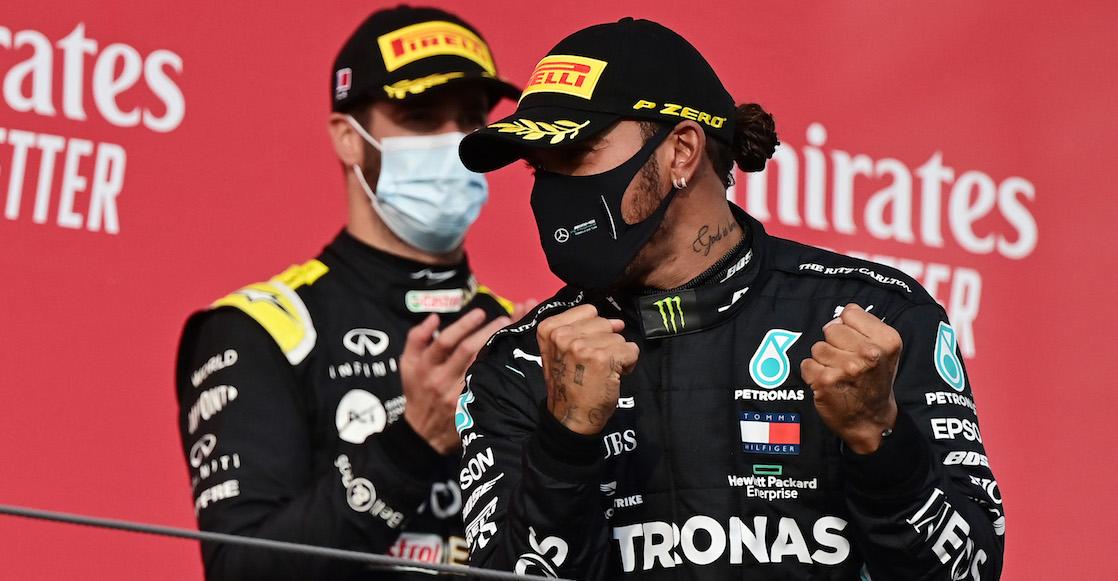 ¡Ya es leyenda! Hamilton se corona en el GP de Turquía e iguala los siete títulos de Schumacher