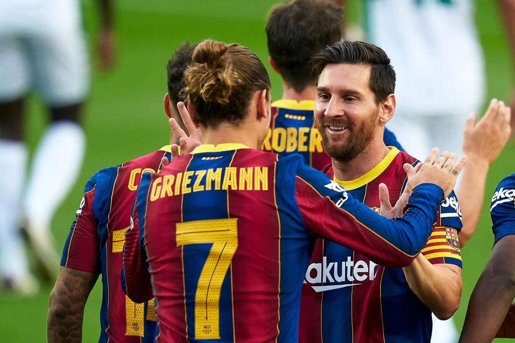 """""""¡Son chorradas!"""" Koeman ya se enojó por los supuestos conflictos entre Messi y Griezmann"""