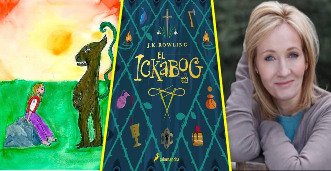 """¡Orgullo nacional! Niñas mexicanas ilustran """"The Ikabog"""", el nuevo libro de J.K. Rowling"""