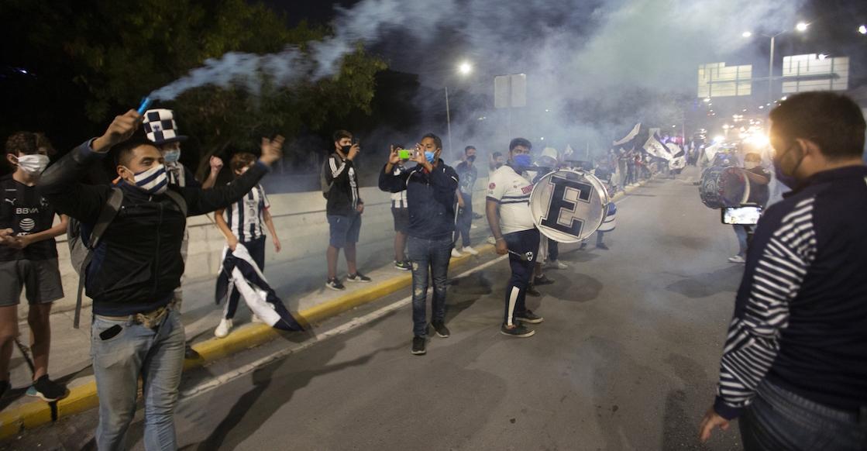 Operativo en Monterrey para evitar festejos tras el título de la Copa MX