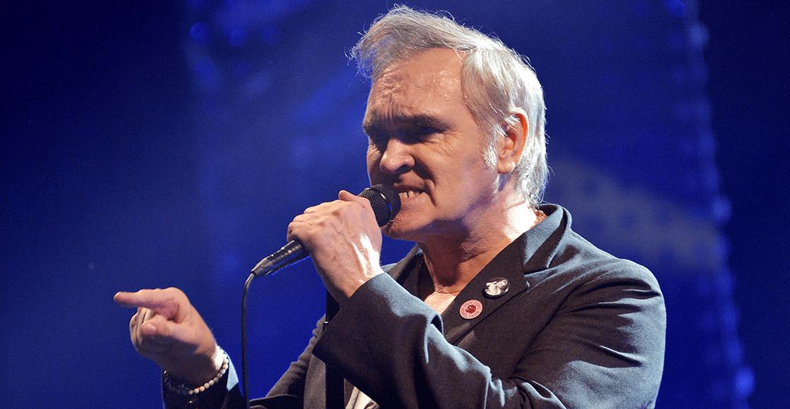 Ni las gracias le dieron: Morrissey dice que lo corrieron de su disquera por culpa de la diversidad