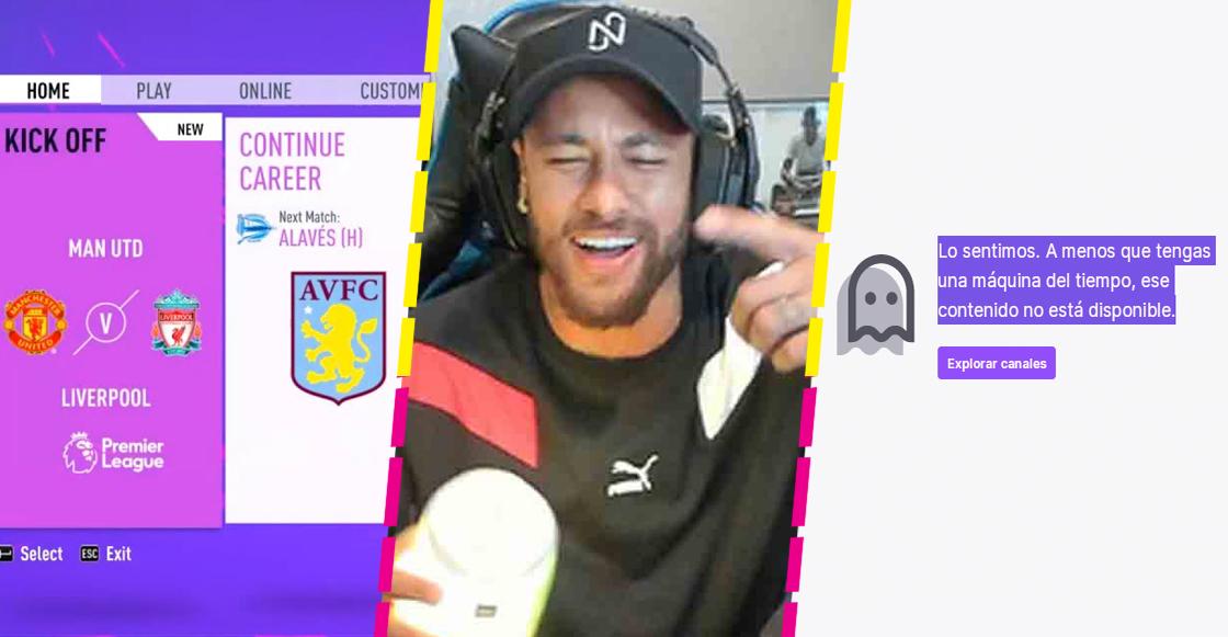 Twitch habría baneado a Neymar 'por culpa' de Richarlison y el FIFA 21