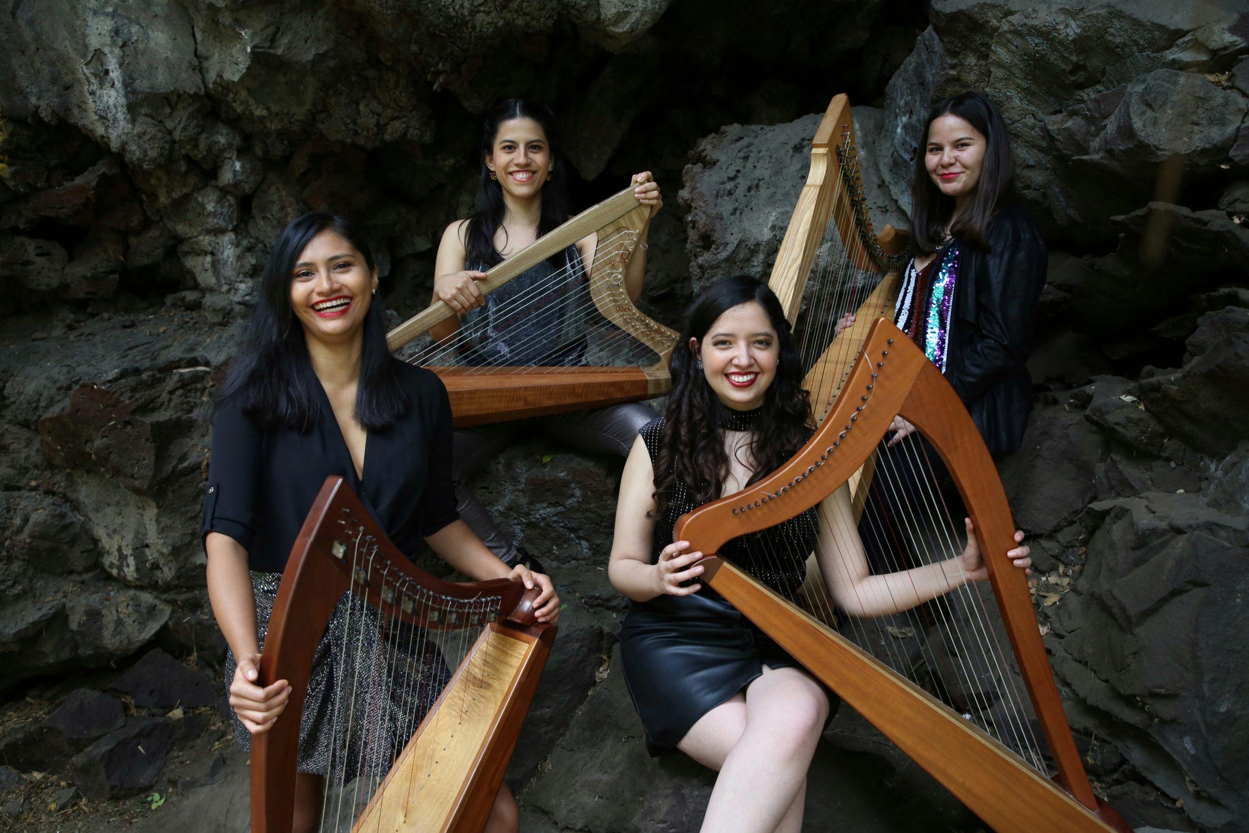 "Denise Gutiérrez launches with Fernanda Ulibarri and Musas Ensamble de Arpas her version of ""Round Sun"""