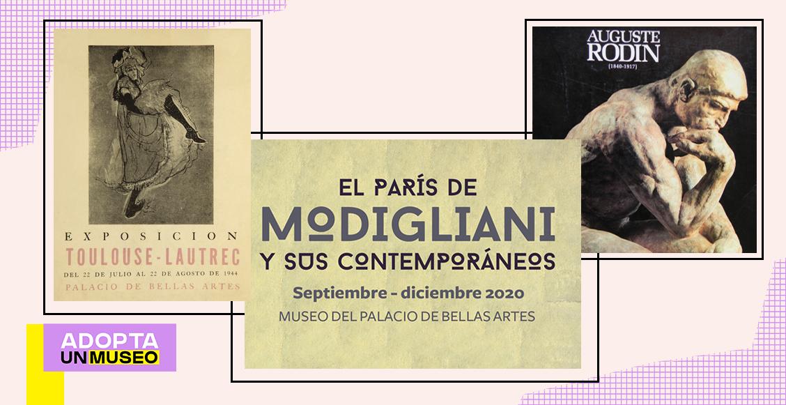 Modigliani, Rodin y Kahlo: Las mejores exposiciones del Museo del Palacio de Bellas Artes