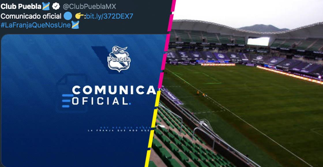 Aprende, Chivas: Puebla anunció que no permitirá aficionados en su estadio ya que 'la salud es primero'