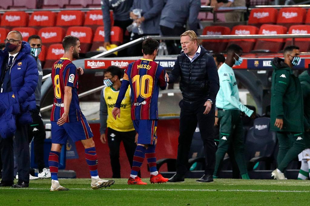 ¿A ver, a ver, qué pasó? Ya se sabe el motivo por el cual Messi fue suplente ante el Betis