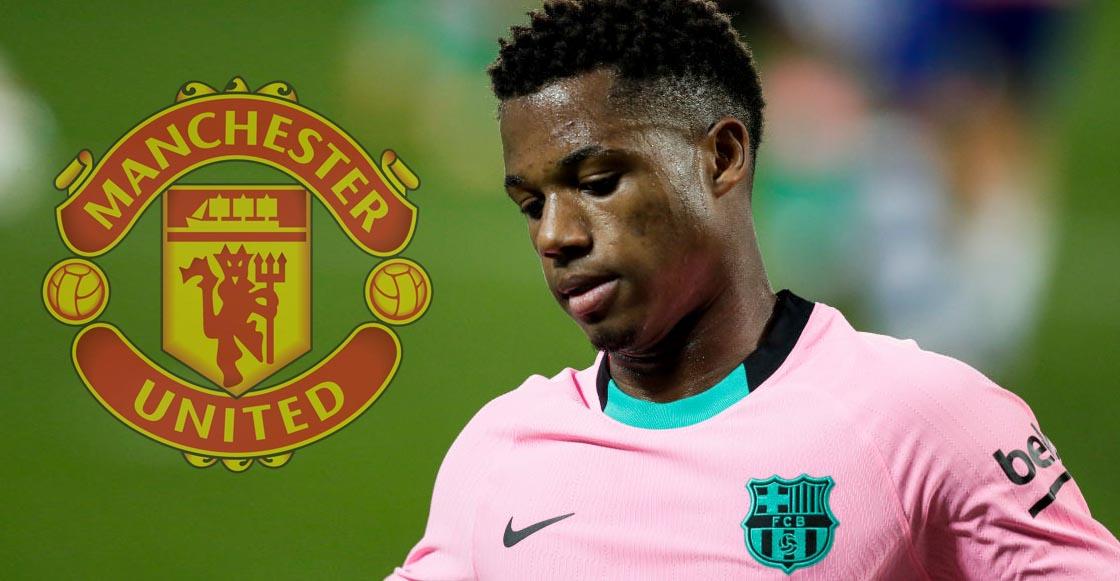 El Barcelona habría rechazado una oferta de 150 MDE del Manchester United por Ansu Fati