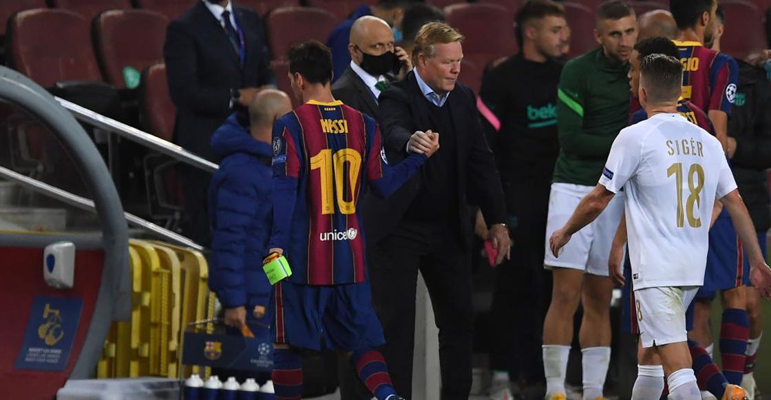 Uno más a la lista: Koeman le respondió a Setién por sus 'críticas' a Messi
