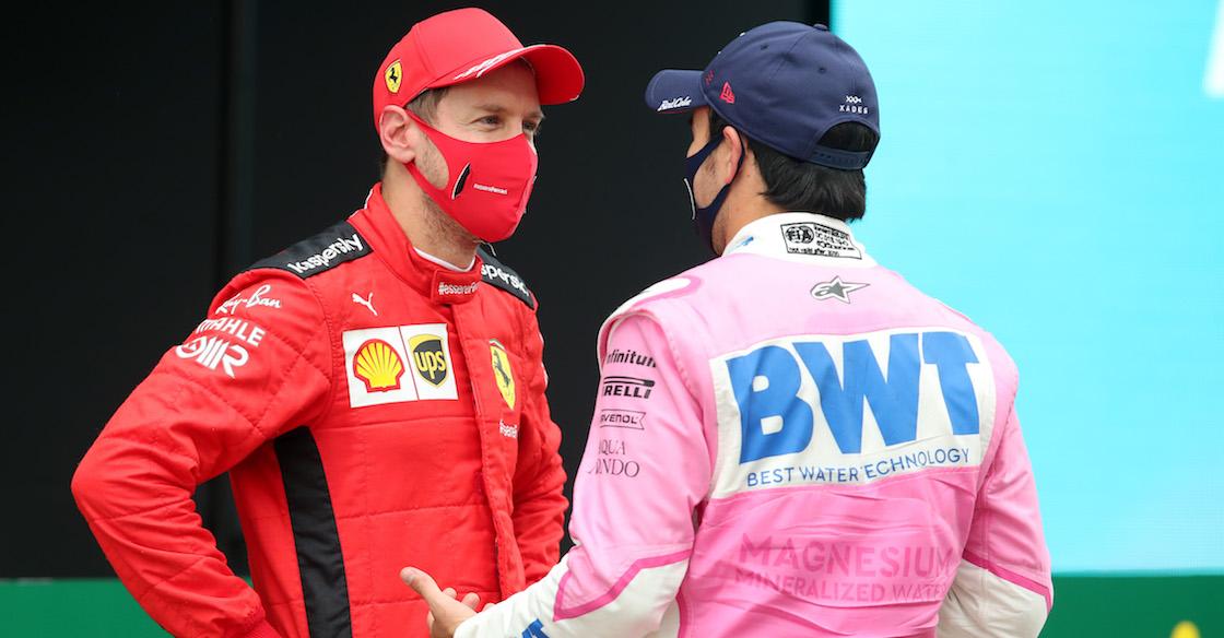 ¡Manejas y te vas! Racing Point planea adelantar la llegada de Vettel para sustituir a Checo Perez