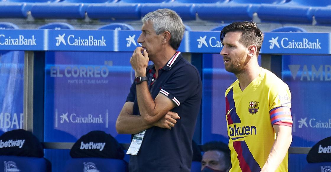 """Setién confiesa afición por el Madrid y experiencia con Messi: """"Es complicado de gestionar"""""""
